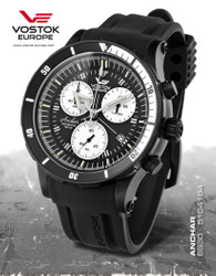 Vostok Europe Anchar 6S30-5104184 XXL Männer Chronograph