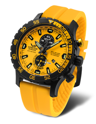 Vostok Europe Expedition Everest Underground YM8J-597C548 Alarmchrono