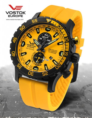 Vostok Europe Expedition Everest Underground YM8J-597C548 Alarmchrono – Bild 7