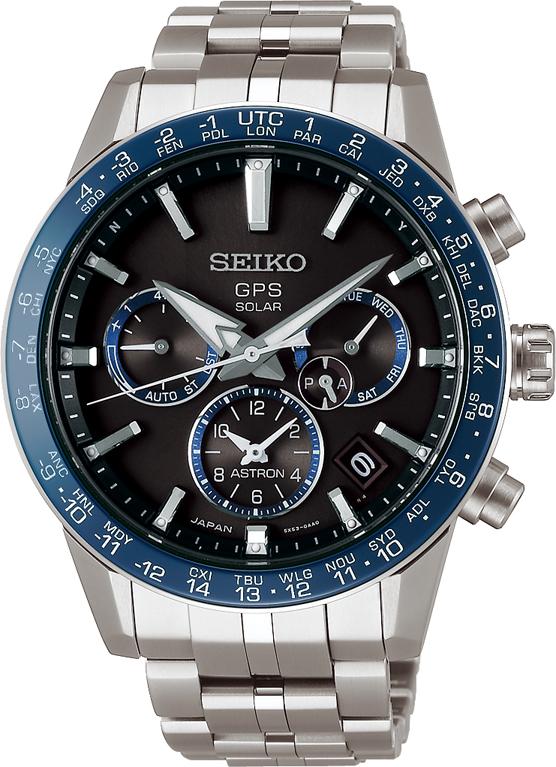 Seiko Astron GPS Chronograph SSH001J1 / SSH001 Solaruhr