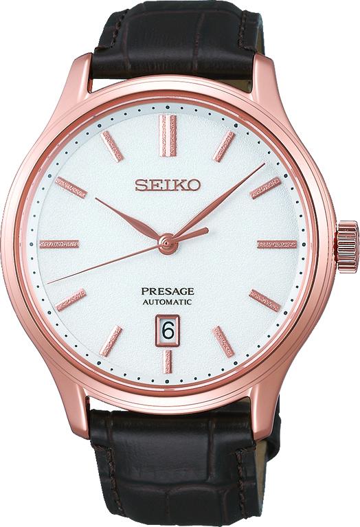 Seiko Presage SRPD42J1 / SRPD42 Automatikuhr new Cocktail Time