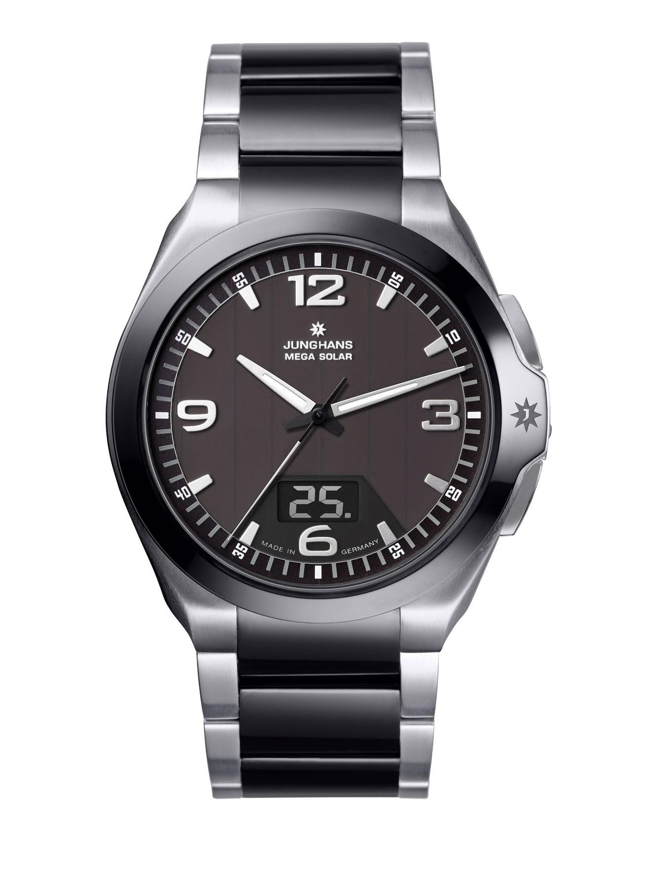 Junghans Spektrum Mega Solar Funk Armbanduhr 018/1120.44 | 18112044