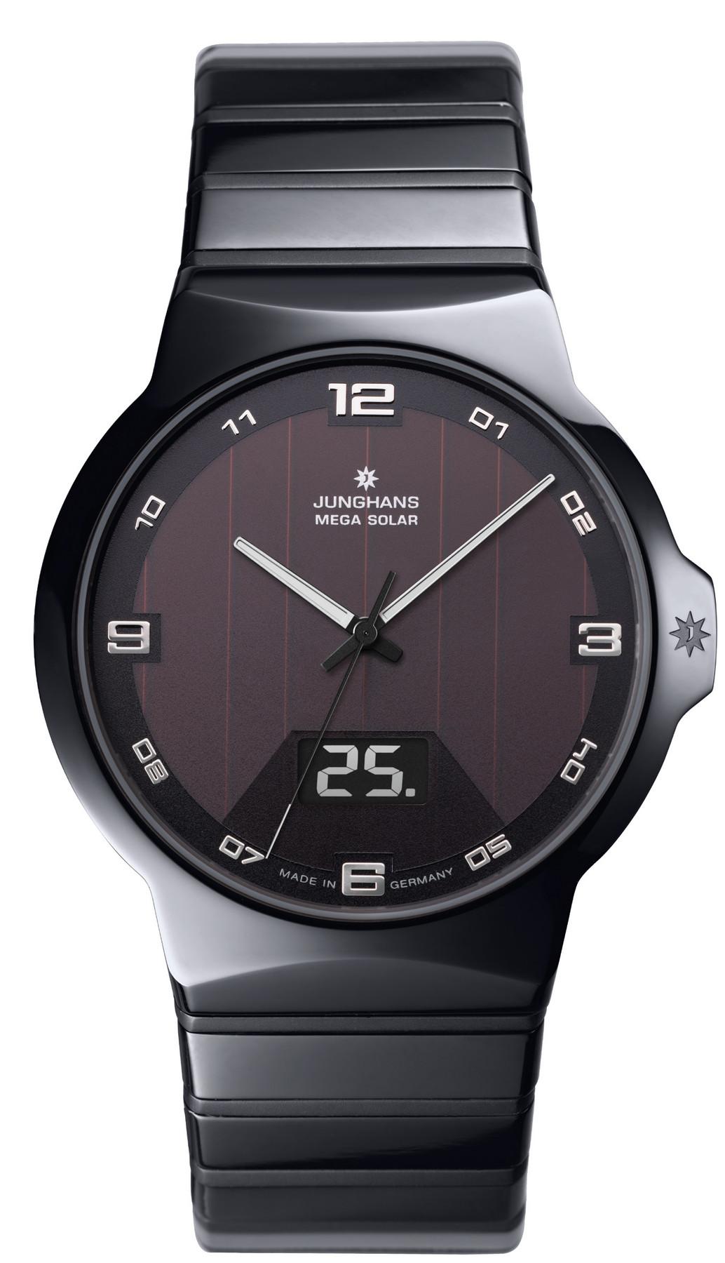Junghans Force Mega Solar Armbanduhr 018/1132.44