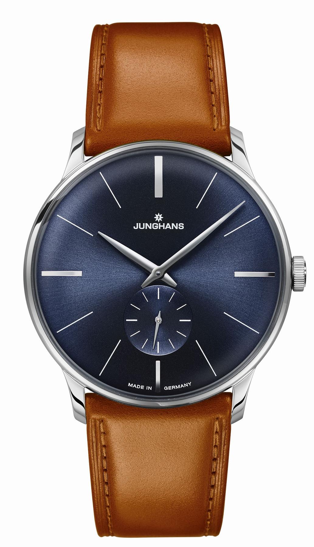 Junghans Meister Handaufzug Armbanduhr 027/3504.00