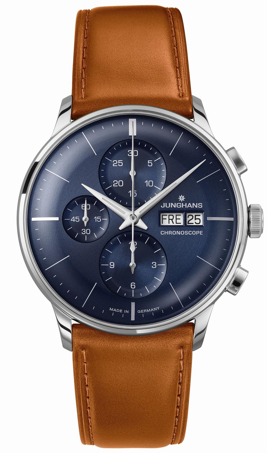 Junghans Meister Chronoscope Automatik Armbanduhr 027/4526.00