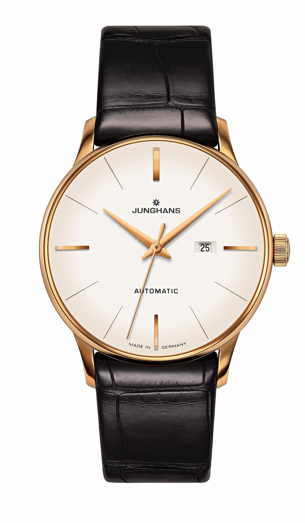 Junghans Meister Damen Automatic Automatik Armbanduhr 027/7845.00
