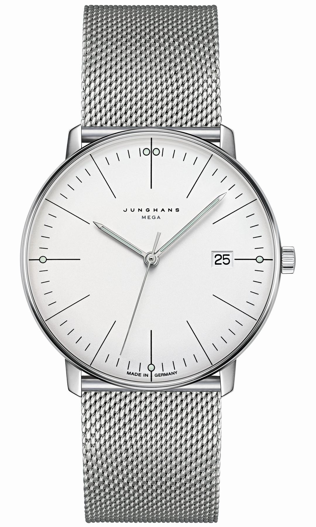 Junghans max bill MEGA Funk Armbanduhr 058/4821.44