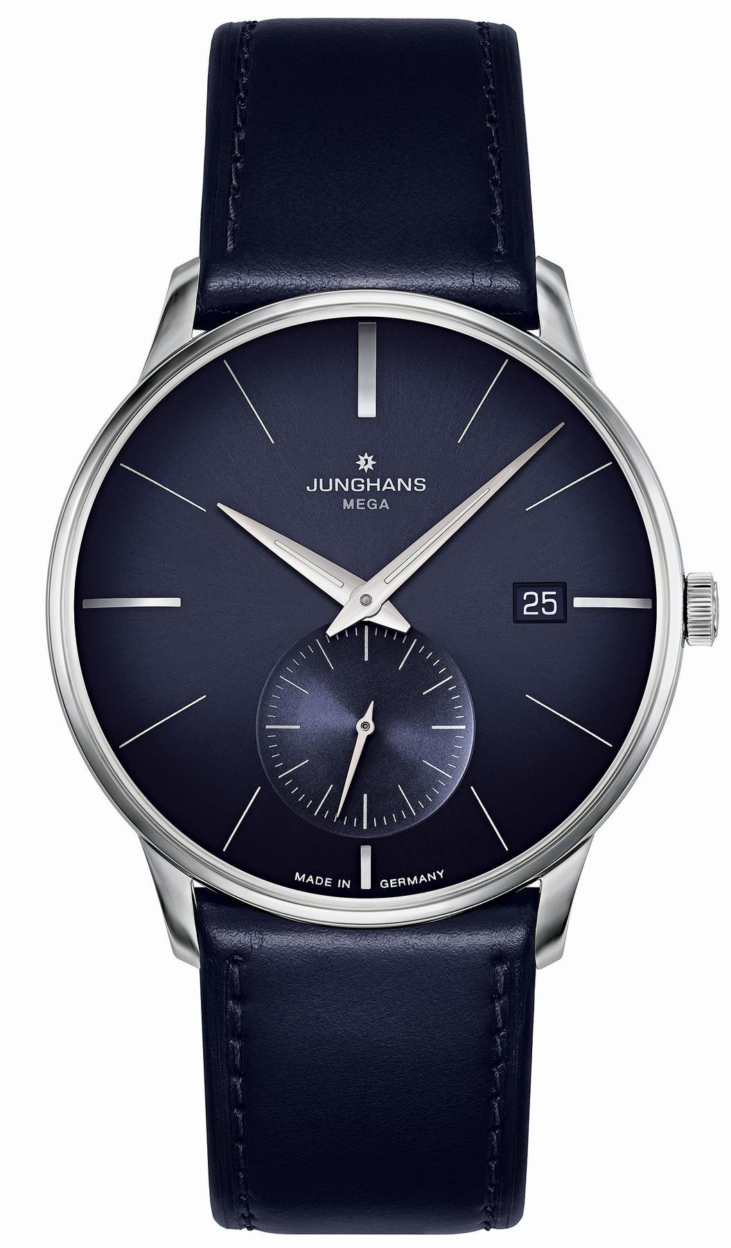 Junghans Meister MEGA Kleine Sekunde Funk Armbanduhr 058/4901.00