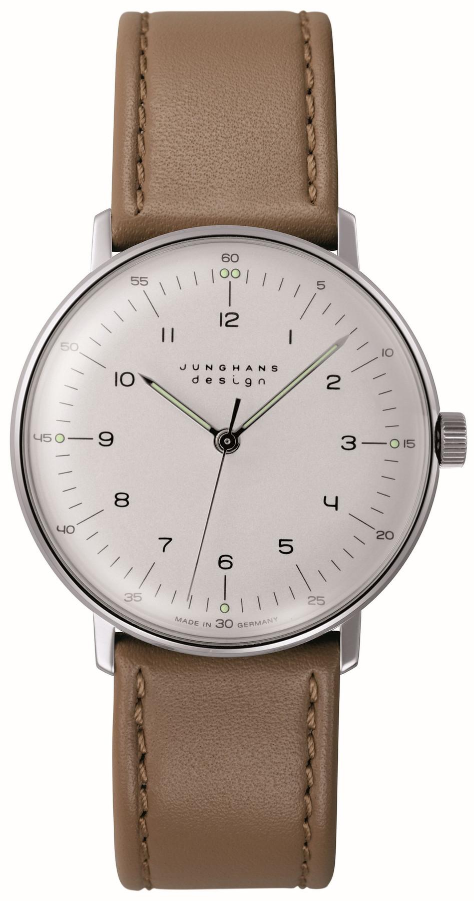 Junghans max bill Handaufzug Herren Armbanduhr 027/3701.04