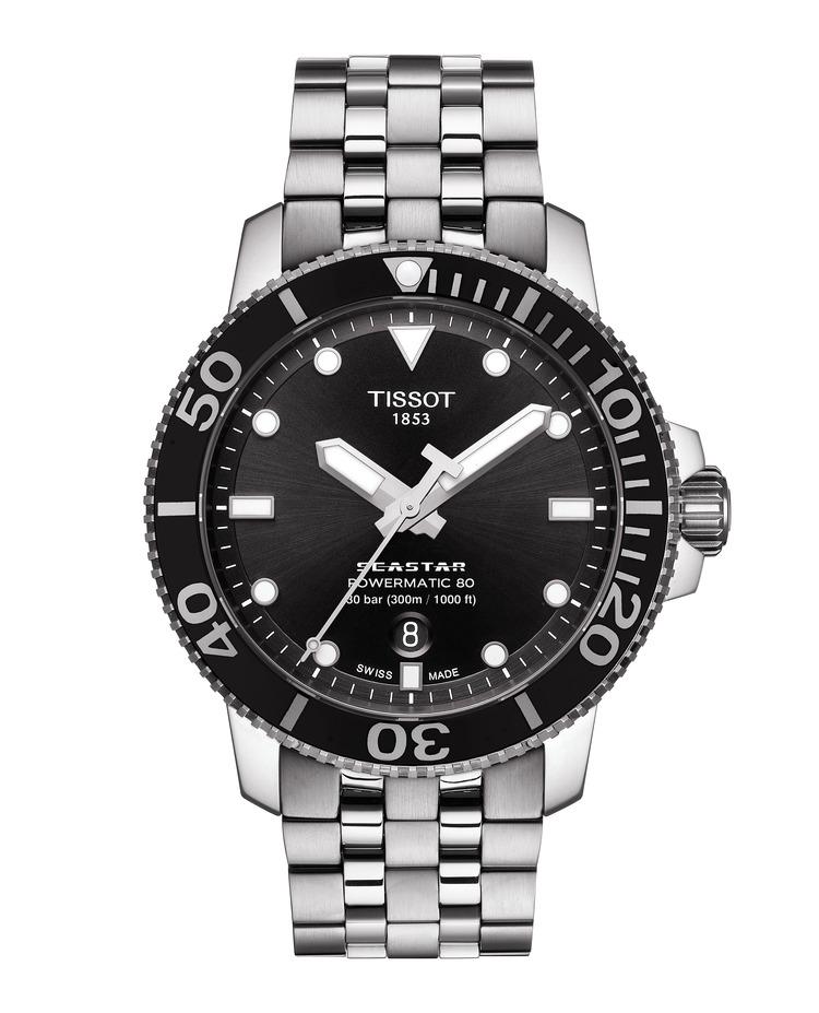TISSOT SEASTAR 1000 POWERMATIC 80 T120.407.11.051.00 / T1204071105100