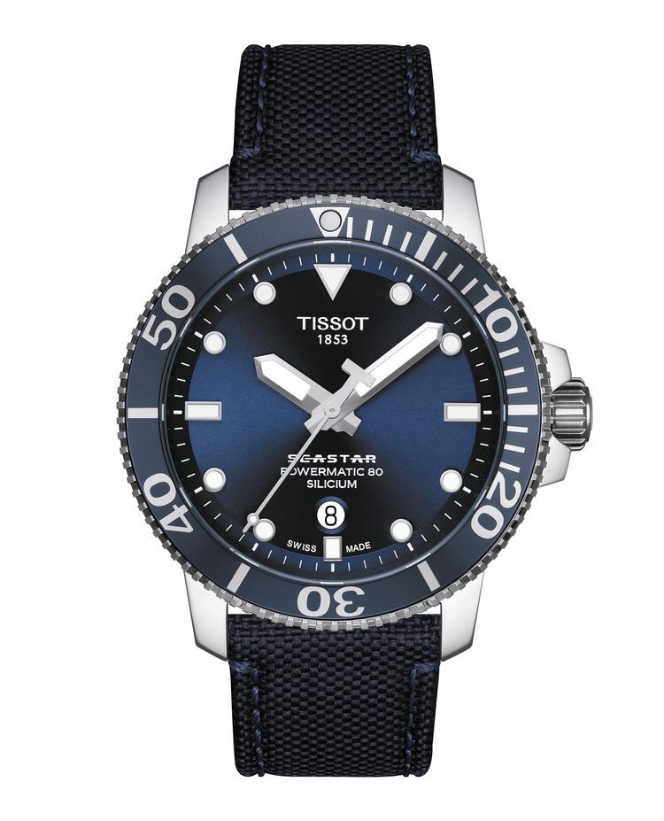 TISSOT SEASTAR 1000 POWERMATIC 80 SILICIUM T120.407.17.041.01 / T1204071704101