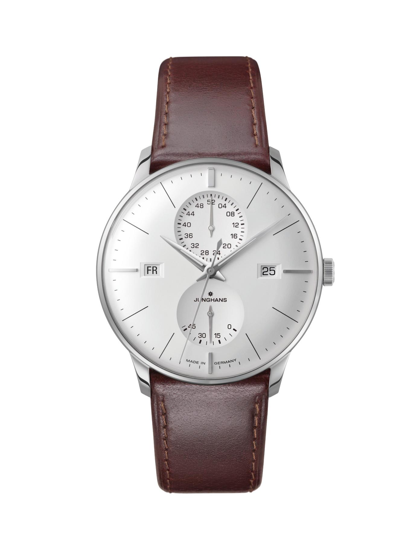 Junghans Meister Agenda Automatik Armbanduhr 027/4364.00