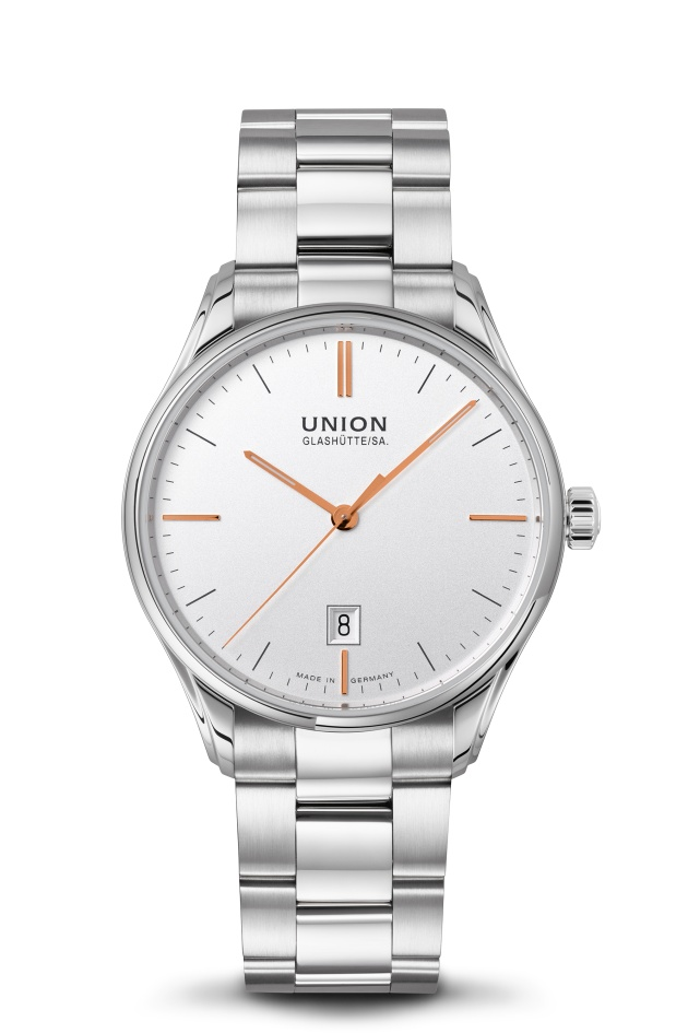 Union Glashütte Viro Datum 41 mm D011.407.11.031.01