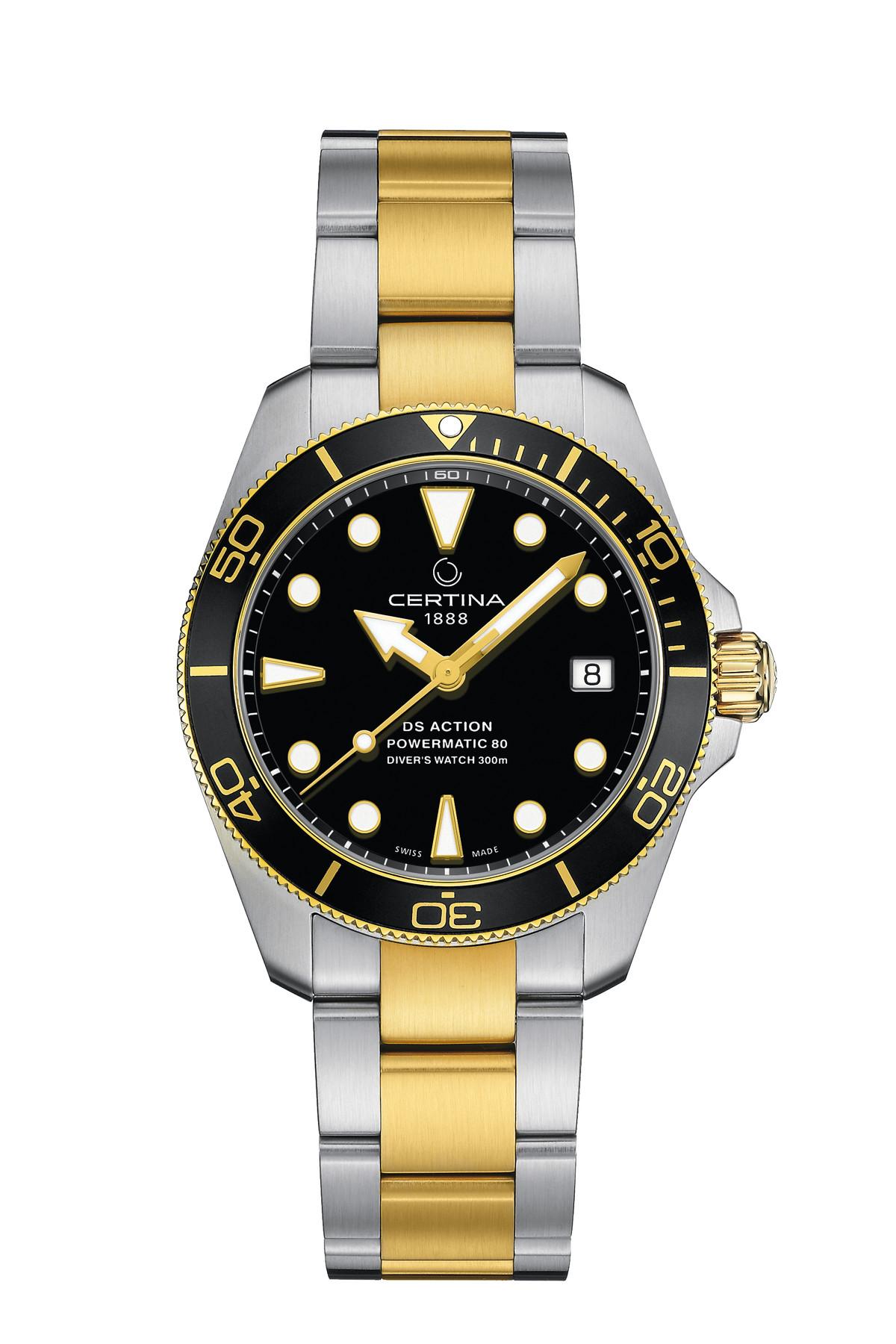 Certina DS Action Diver 38 mm C032.807.22.051.00 | C0328072205100