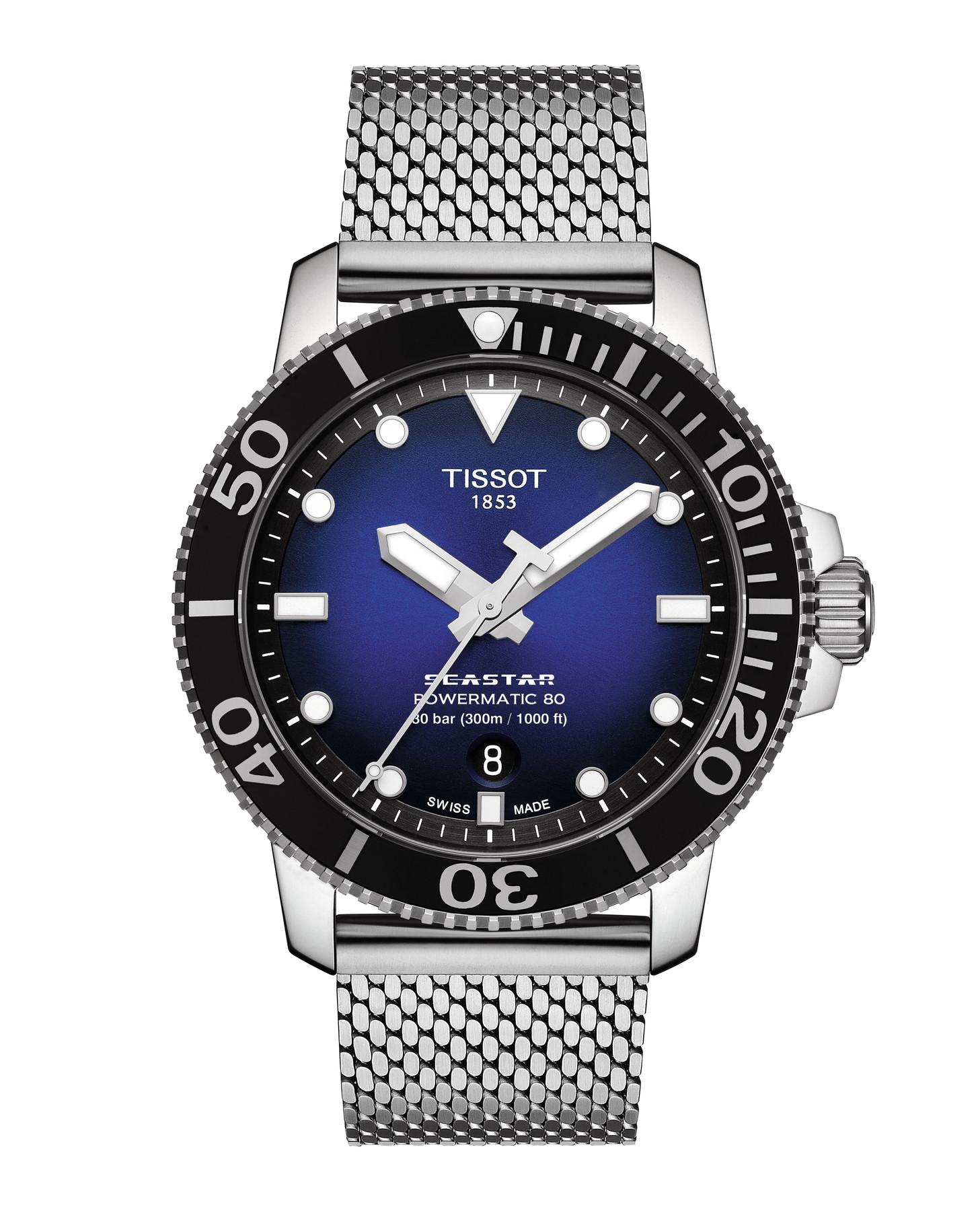 Tissot Seastar 1000 Powermatic 80 T120.407.11.041.02 / T1204071104102