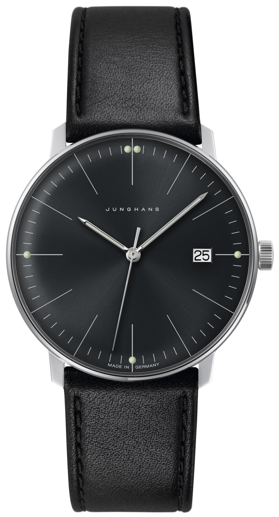 Junghans max bill Herren Quarz Armbanduhr 041/4465.04