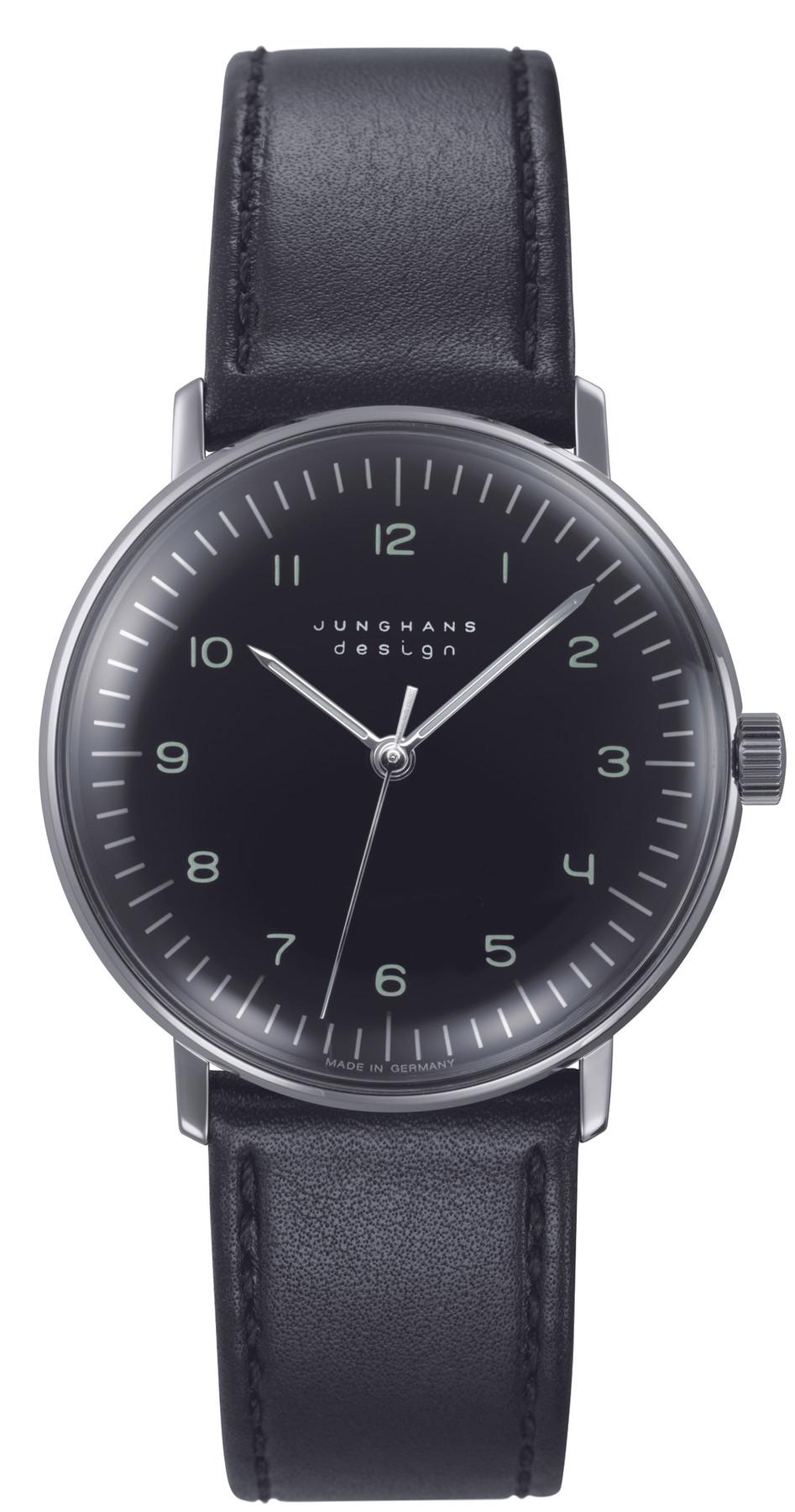 Junghans max bill Handaufzug Damen Armbanduhr 027/3702.04
