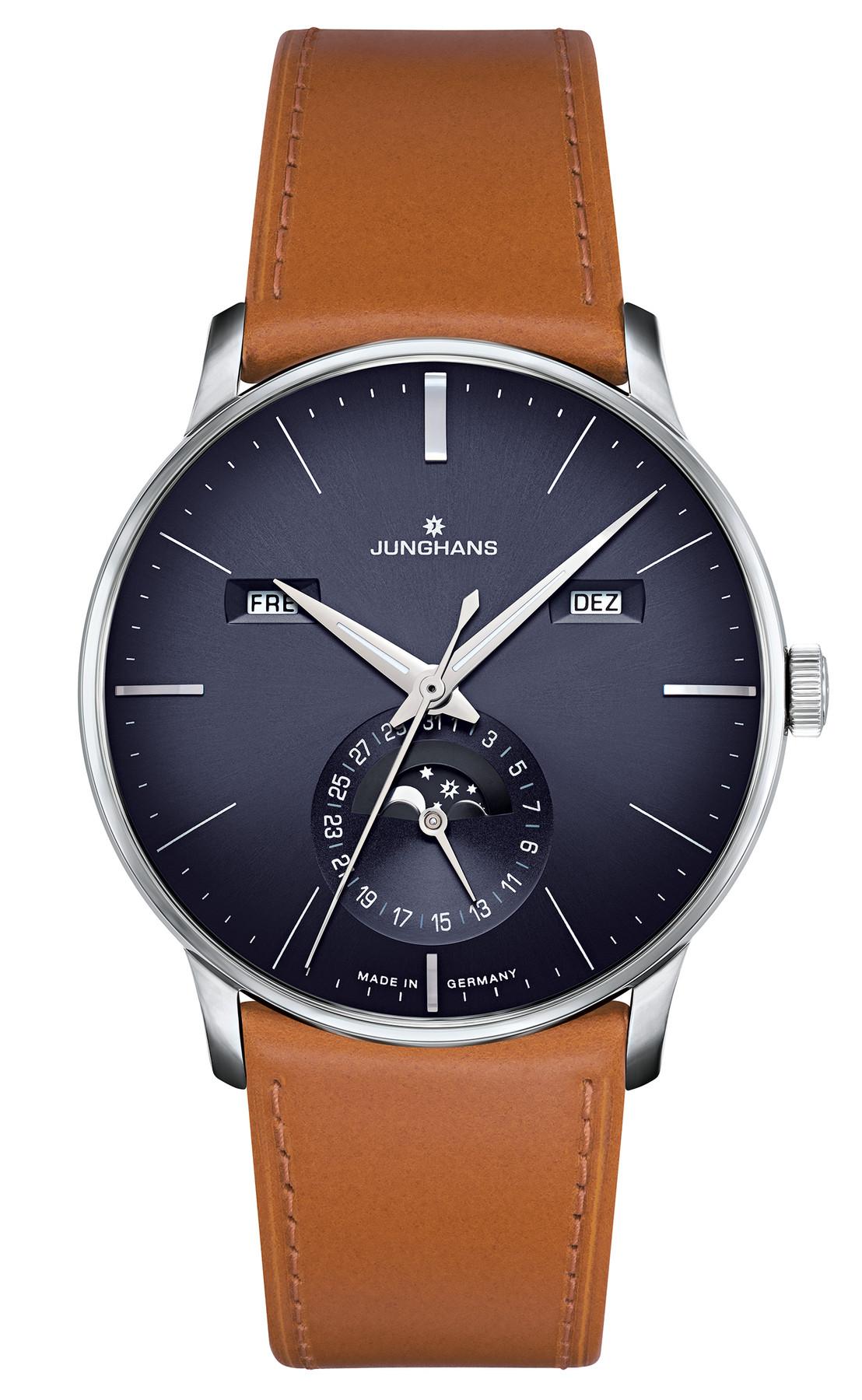 Junghans Meister Kalender Automatik Armbanduhr 027/4906.00