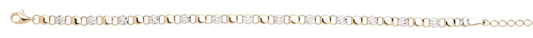 Eder Goldschmuck Gold Armband 14kt 585 er Gold 41.EG218