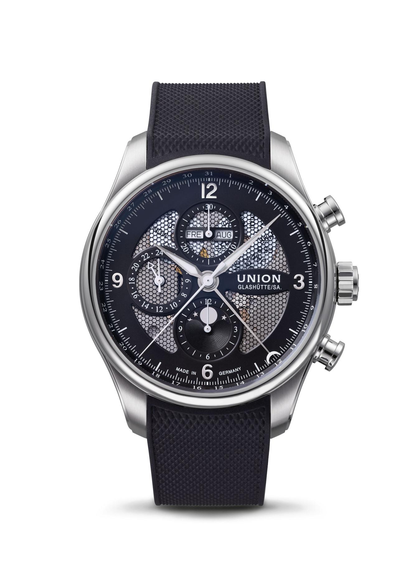 Union Glashütte Belisar Chronograph Mondphase D009.425.17.057.00 | D0094251705700