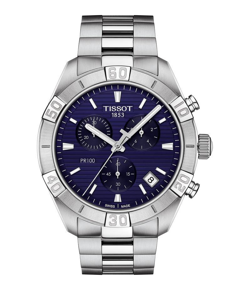 Tissot PR 100 Sport Gent Quarz Herrenchronograph T101.617.11.041.00 / T1016171104100