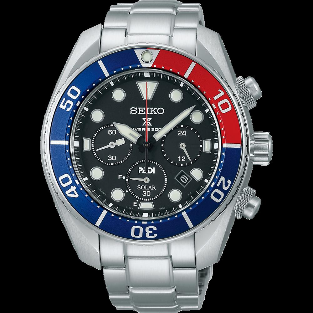Seiko PADI Prospex Diver's Solar Herrenuhr SSC795J1 / SSC795