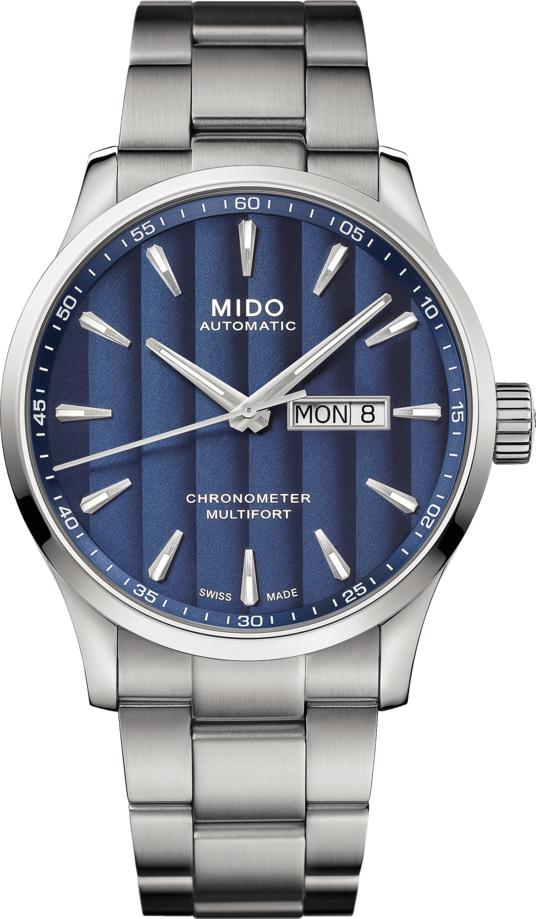 Mido M038.431.11.041.00 / M0384311104100 MULTIFORT III Herren Automatikuhr
