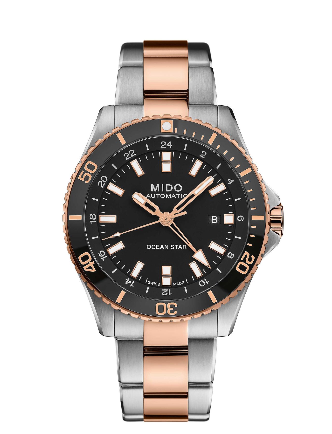 Mido M0266292205100 OCEAN STAR GMT Automatikuhr M026.629.22.051.00