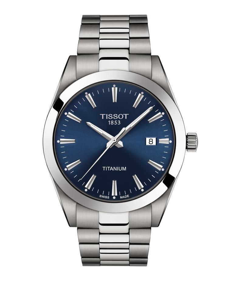 Tissot Gentleman Titanium T127.410.44.041.00 / T1274104404100