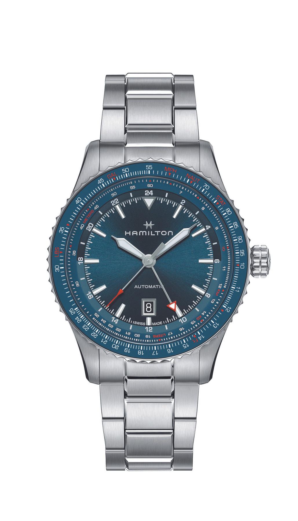 Hamilton H76715140 | Khaki Aviation | Converter GMT