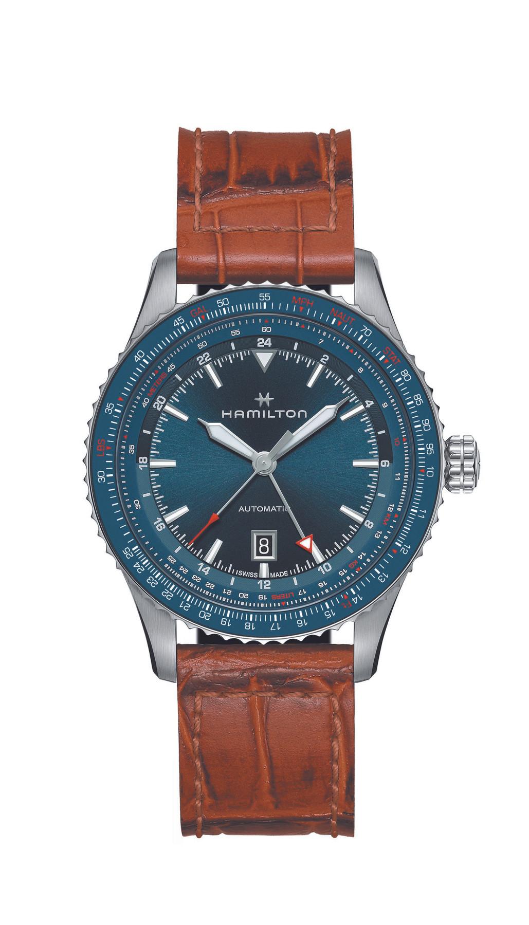 Hamilton H76715540 | Khaki Aviation | Converter GMT