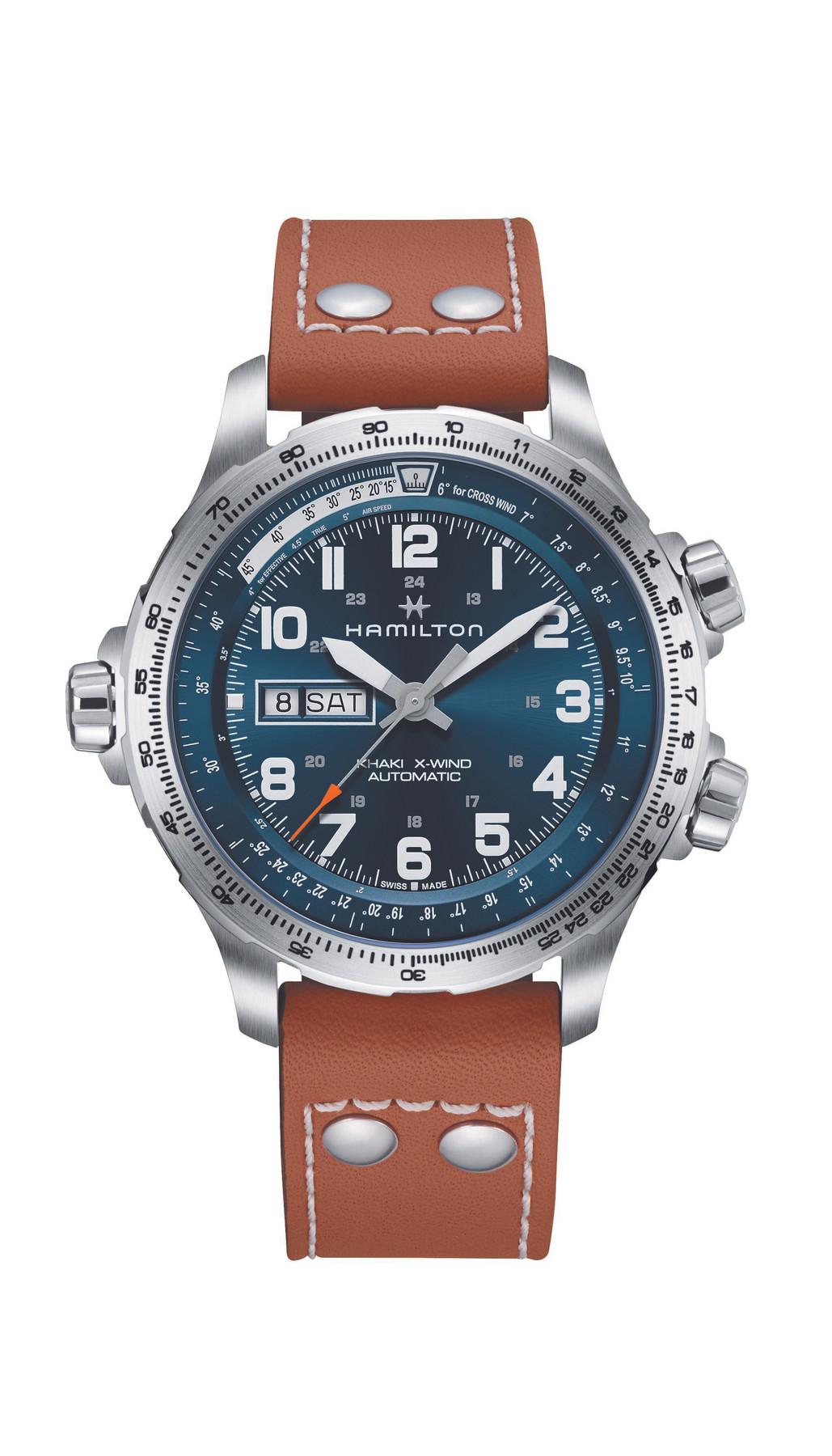 Hamilton H77765541   Khaki Aviation X-Wind   Day Date Automatic watch