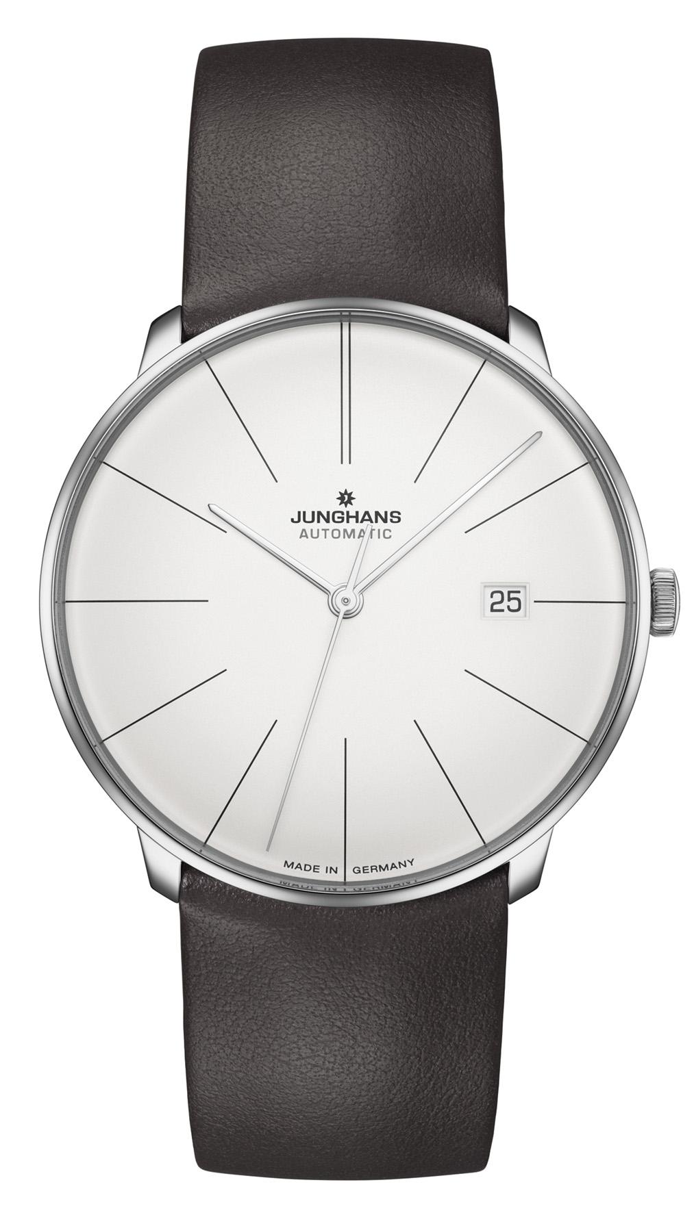 Junghans Meister Fein Automatik Herren Armbanduhr 027/4152.00   27415200