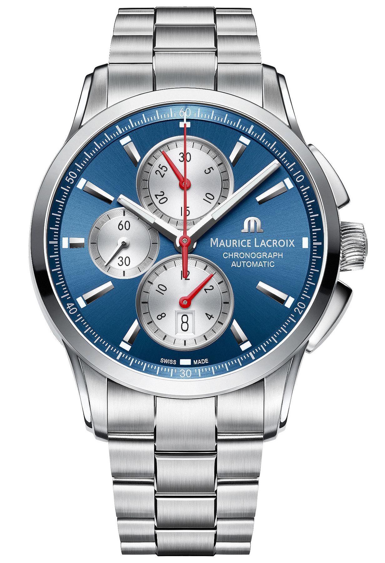 B-Ware | Maurice Lacroix Pontos Automatikchronograph PT6388-SS002-430-1 ETA Valjoux 7750