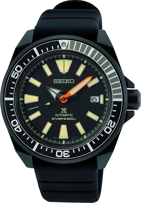 Seiko Automatik Diver Prospex SRPH11K1 / SRPH11 Black Series Samurai Limited Edition