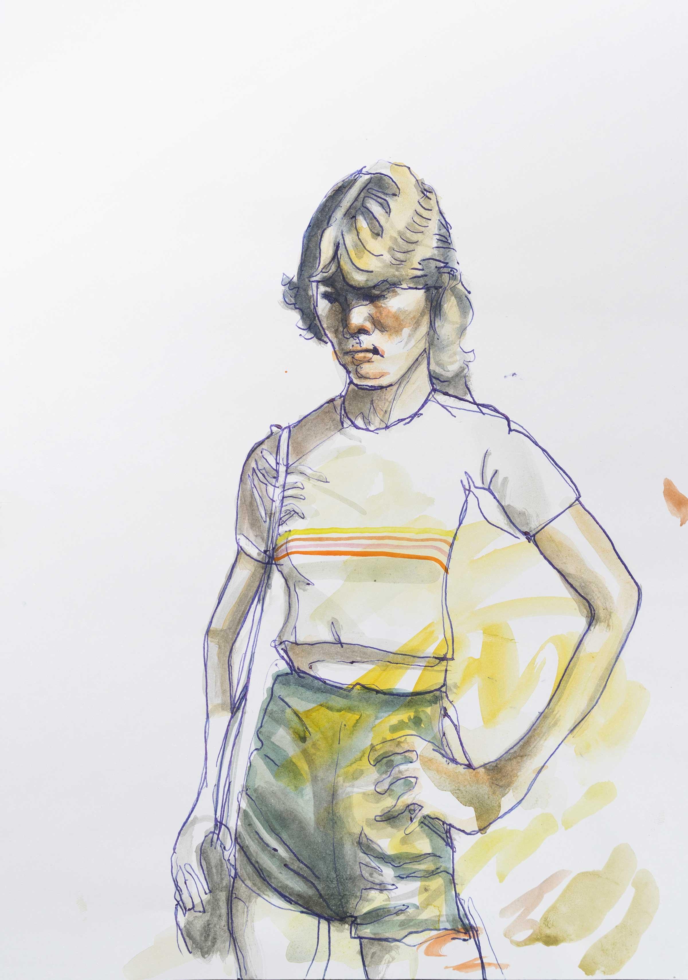 Max Müller - Mädchen in Shorts