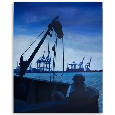 Hamburg - Blauer Hafen – Bild 2