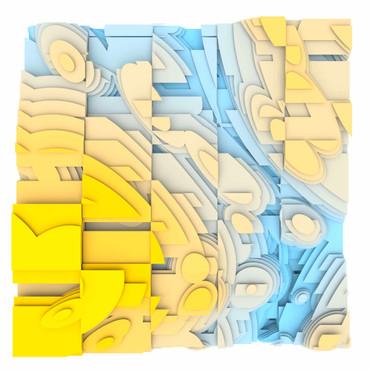 Volumetric Noise - Voronoi Cubism 0823 – Bild 1