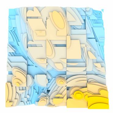 Volumetric Noise - Voronoi Cubism 0824 – Bild 1
