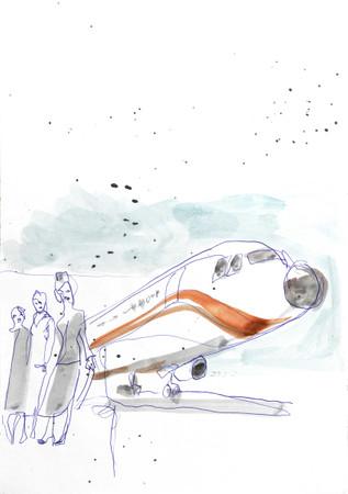 Flugzeug und Stewardessen – Bild 5