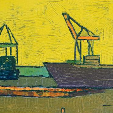 Untätige Kräne IV - Parkhafen – Bild 5