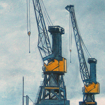 Untätige Kräne VI - Dock 10 – Bild 9