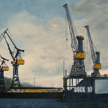 Untätige Kräne VI - Dock 10 – Bild 2