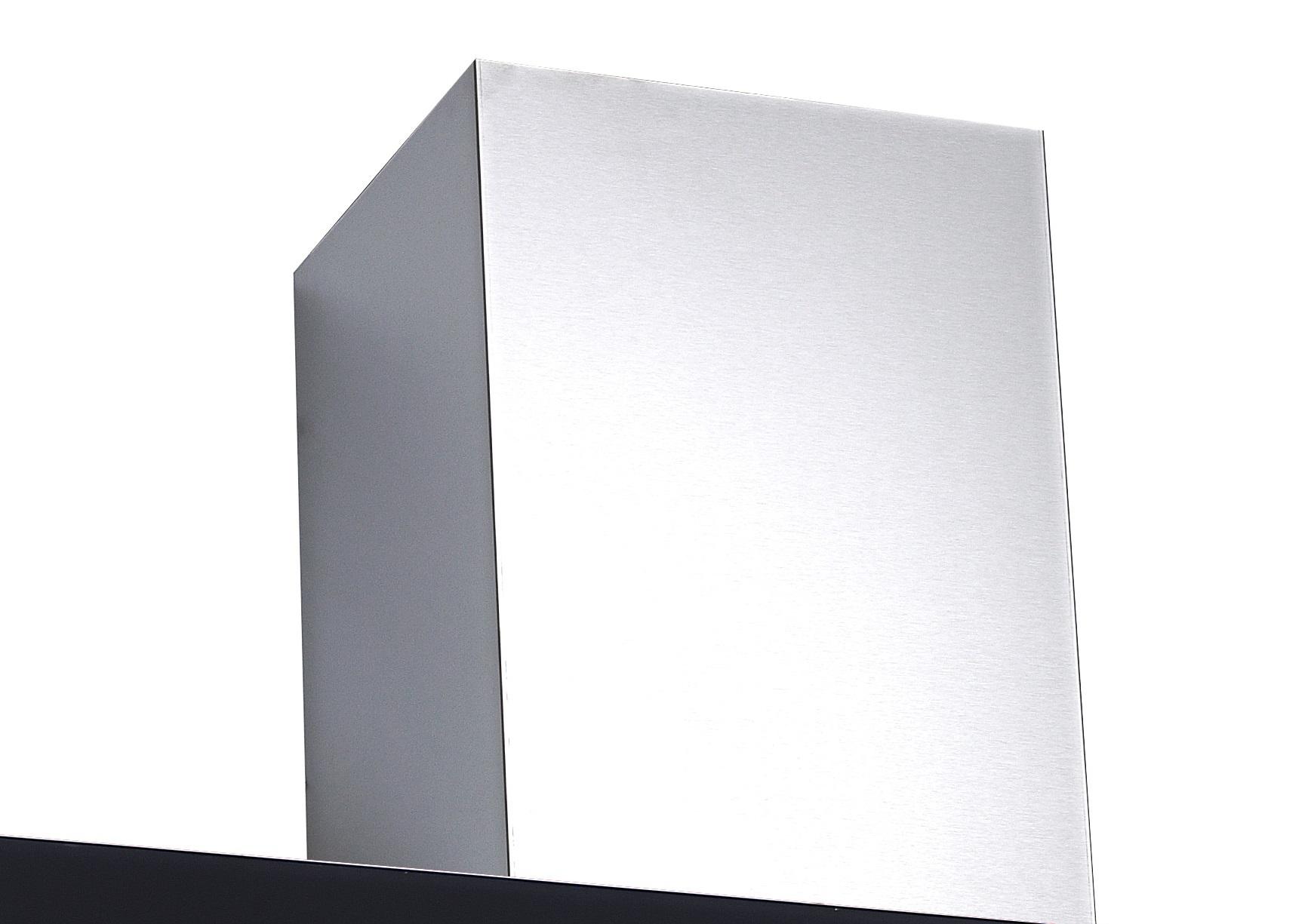Pkm 9040 90bz dunstabzugshaube schwarz 90cm kopffreihaube ab umluft