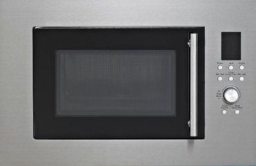 PKM MW900-23G-IN Einbau Mikrowelle 900 Watt Edelstahl 23 Liter Grill