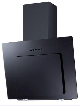 PKM 9039X Glas schwarz Dunstabzugshaube Randabsaugung 60cm Schräg
