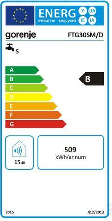 Gorenje FTG30SM Boiler 30 Liter DRUCKFEST flach schmal ECO  – Bild 2