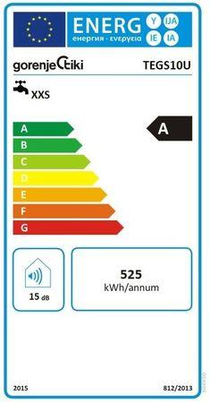 Gorenje TEG S 10 U Boiler 9,9 L DRUCKLOS Warmwasserbereiter Untertisch – Bild 2
