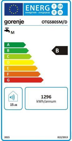 Gorenje OTGS80SM/D Boiler 78,8 Liter DRUCKFEST Thermostat ECO – Bild 2