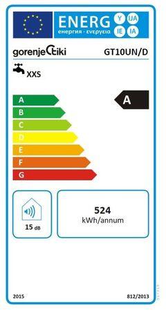 Gorenje GT 10U Boiler 10 Liter DRUCKFEST Untertisch Warmwasserbereiter – Bild 2